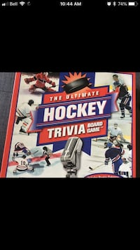 Ultimate Hockey Trivia Board Game Mississauga, L5L 2E9