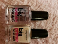 Sally Hansen big primer base coat and kwik dry top Baltimore, 21225