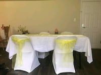 For rent Tables and Chairs Hyattsville
