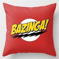 BRAND NEW- BIG BANG THEORY- BAZINGA - DECORATIVE PILLOW COVER **PILLOW COVER ONLY** Sarnia, N7T 1J2
