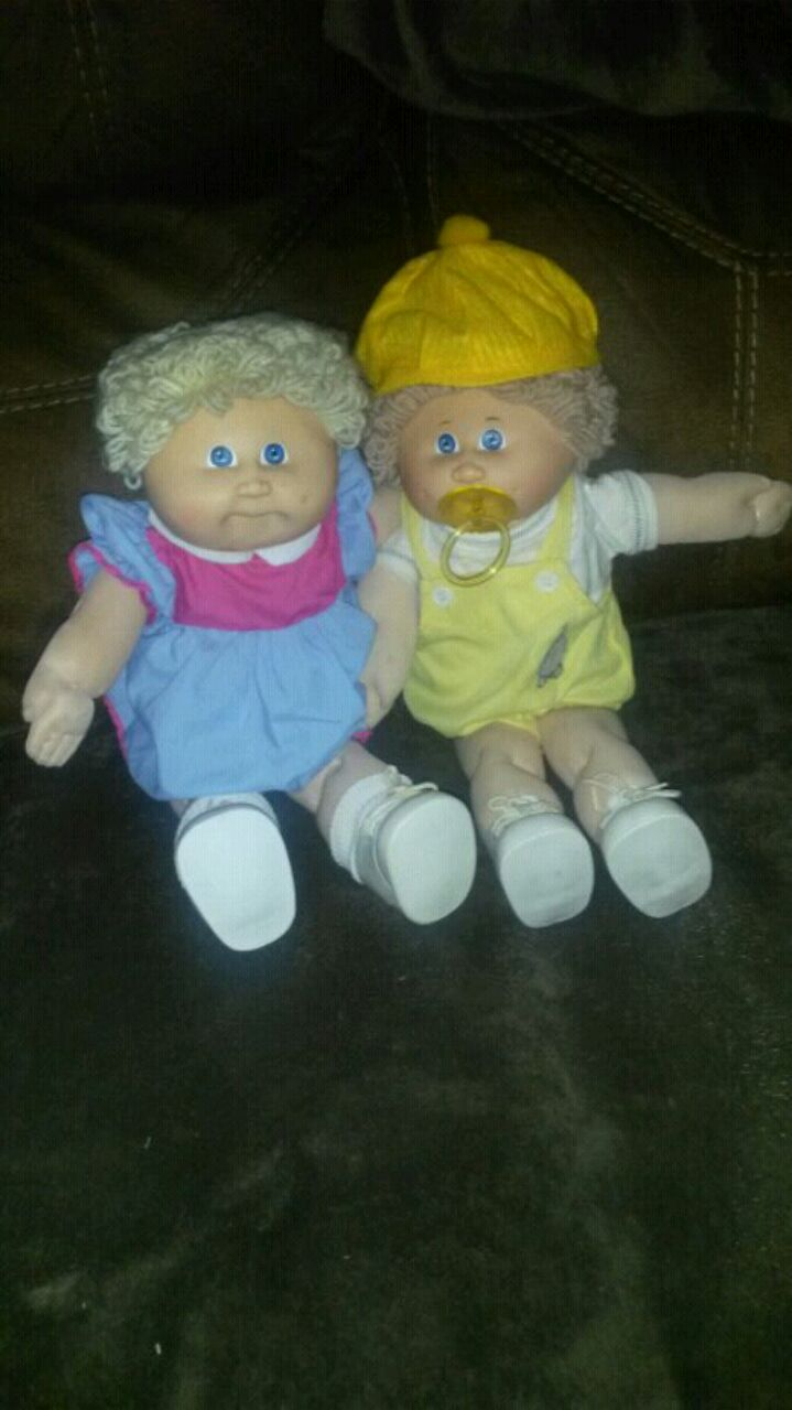 two Cabbage Patch Kids dolls for sale  West Sacramento