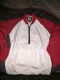 White and red FJ zip-up jacket Caledon, L7K 0T6