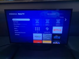"32"" Roku Flat Screen Tv"