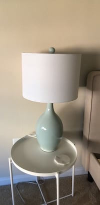 27 inch blue table lamp Washington, 20037
