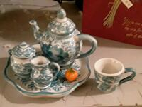 Miniature teaset for child or decoration Old Town Manassas, 20109