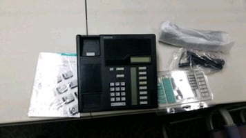 Norstar office telephone.