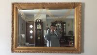 White wooden framed wall mirror Albany, 12203