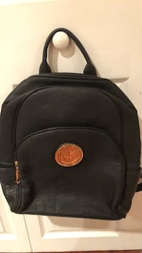 black and orange leather backpack Alexandria, 22310