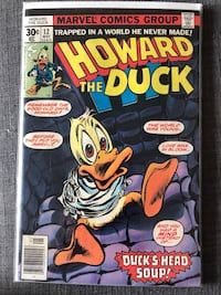 Howard the duck comics - 12 and 13 first appearance of KISS