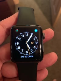iPhone watch 3 42 m almost new Revere, 02151