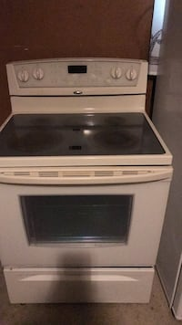 white and black induction range oven Richmond Hill, L4C 9R2