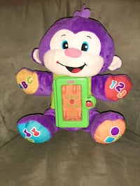 Fisher price interactive plushy Mission