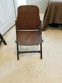 2 Antique wooden folding chairs Portland, 97216