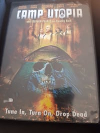 Camp Utopia DVD... $3  Firm... Calgary, T2V
