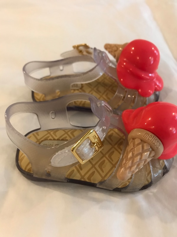 83b44a52ff9b Used Mini Melissa ice cream shoes for toddlers size 5 for sale in ...