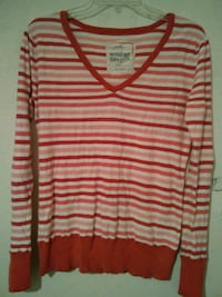 LG mossimo pink white sweater Bakersfield, 93308