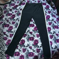 White striped tights size:s/m St Catharines, L2M 7S3