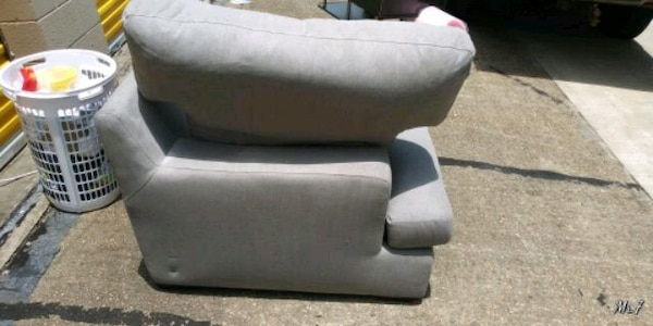 Lounge with ottoman