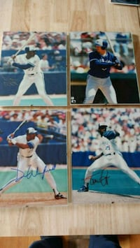 1992 Blue Jays World Series Autographed Photos and Baseball Pickering, L1V 3A9