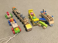 Wooden Toys Melissa and Doug Lot Vaughan, L4J 7K7