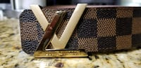 Louis Vuitton's designer womans belt Modesto, 95356