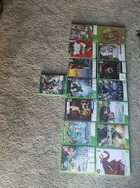 assorted Xbox 360 game cases Wyoming