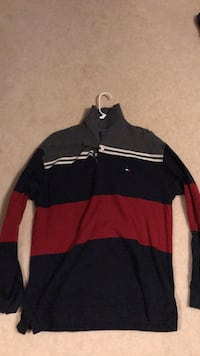 Tommy Hilfiger Long Sleeve Shirt Size L. Powell, 43065