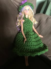 girl in green and white dress doll Hagerstown, 21740
