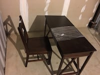 Desk and chair for free.  Must be picked up by 3 pm Thursday  Kensington, 20895