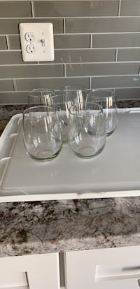 clear glass pitcher and cup set 11 km