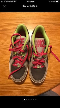 pair of gray-and-pink Nike running shoes East Greenbush, 12061