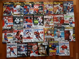 Guide statistiques hockey pool stats magazines 50$
