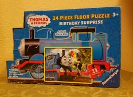 Thomas the Train Birthday Surprise Floor Puzzle