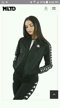Kappa jacket mens and womans