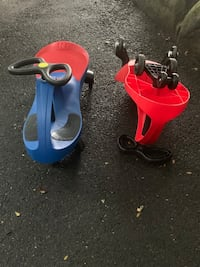 Scooters $15 each the red n blue one is sold Bethlehem, 18018