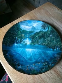 Sanctuary of the Dolphin collectible plate Minneapolis, 55430