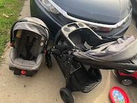 baby's gray travel system Citrus Heights, 95621