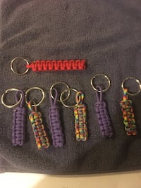 Paracord key chains  St. Thomas, ON, Canada