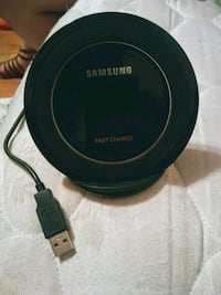 black Samsung wireless charging pad Independence, 64056