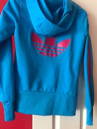 Women's Adidas hoodie,size(S),SIZE SMALL BUT IS SMALLER ,SIZE (XS)SMOKE FREE HOME  Condition Used - Like New