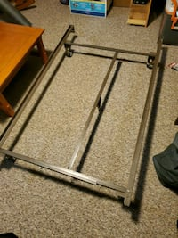 Queen or double metal bed frame