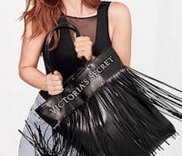 VICTORIAS SECRET FRINGE TOTE BAG NEW WITH OUT TAG Aberdeen, 21001