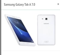 White 7.0 in Samsung Galaxy Tablet