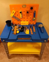 Bob the Builder Workbench w/ Tools, Accessories Council Bluffs, 51503