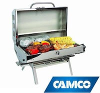 NEW CAMCO Olympian 5500 STAINLESS STEEL Portable Grill with RV mount Brampton