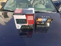 two black and gray car charger boxes 43 mi