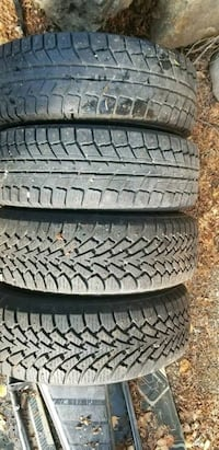 Set of winter tires with spokes  West Kelowna, V4T 1L9