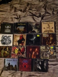 Various DVD's and CD's (mostly metal) for sale, all under $10 EDMONTON