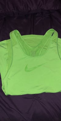 Green Nike Pro Tank Top  Brownsville, 78521