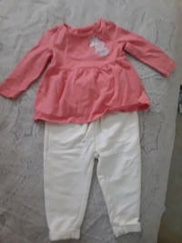 Little girls 2 piece outfit good condition 47 km
